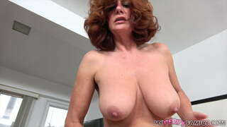 Andi James, a natural-breasted old lady