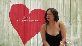 Break Alba's pussy